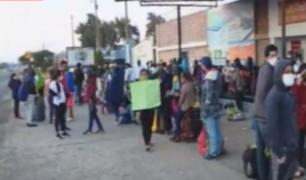 Grupo Aéreo N°8: cientos continúan en exteriores a la espera de vuelo humanitario