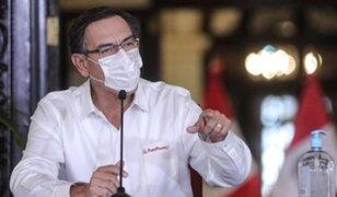 Ipsos Perú: 83% de peruanos respalda gestión de presidente Martín Vizcarra