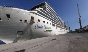 España: atracó crucero que no ha registrado casos de coronavirus a bordo