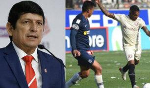 Agustín Lozano sobre la Liga 1: podría regresar en julio y a puertas cerradas
