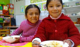 Más de 3 millones de escolares serán beneficiados con alimentos de Qali Warma