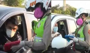 PNP aplicó multa hasta de 6300 soles a vehículos sin autorización para transitar