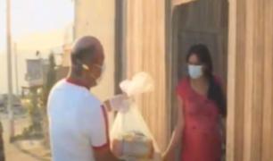 Pachacamac: municipalidad realizó entrega de víveres