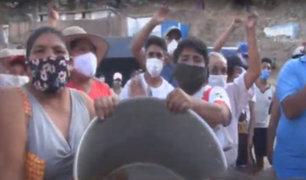 SJL: vecinos protestan porque no recibieron víveres