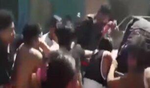 Piura: pobladores de Catacaos saquean camioneta de la municipalidad