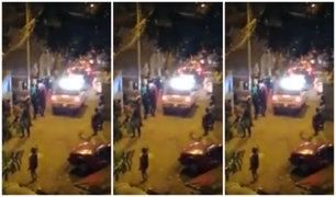 Municipio de Independencia rechazó actos violentos durante entrega de canastas