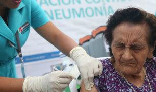 Actividades de vacunación se reanudarán una vez concluido el estado de emergencia