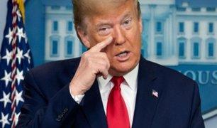 "Coronavirus: Donald Trump espera tener vacuna para fin de año o ""quizás antes"""
