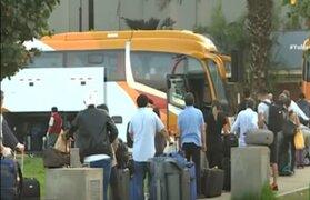 Peruanos residentes en Estados Unidos lograron regresar a ese país