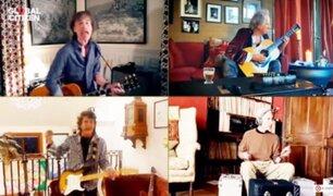 """Así fue la presentación de Los Rolling Stones en """"One World: Together at Home"""""""