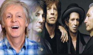 """Paul McCartney piensa que """"Los Beatles fueron mejores"""" que los Rolling Stones"""