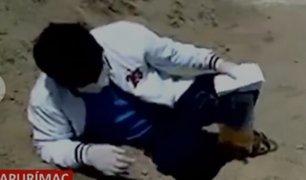 Apurimac: paciente adolorido frente a hospital no es atendido