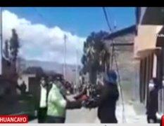 Huancayo: compañeros despiden a Policía que falleció por COVID-19