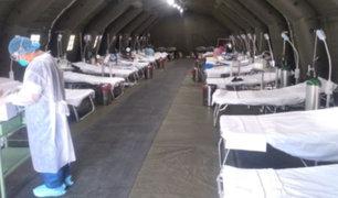 Callao: primer hospital de contingencia para pacientes con COVID-19 inició operaciones hoy