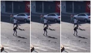 SMP: vecinos cansados de inseguridad tras gresca de pandilleros en plena cuarentena