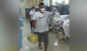 ¡Buena noticia! Más de 20 policías internados por coronavirus fueron dados de alta