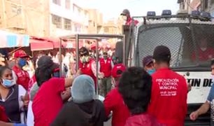 Desalojan a ambulantes que tomaron mercado Caquetá