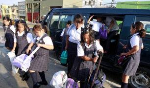 Covid-19: dueños de movilidades escolares quieren cambiar de rubro