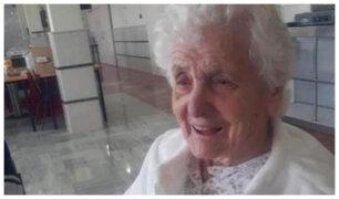 El increíble caso de la anciana de más de 100 años que ha sobrevivido a dos pandemias
