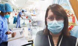 """Pilar Mazzetti: """"el Sistema de Salud todavía tiene capacidad de reacción"""""""