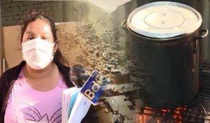 Esta es la historia de Zaida, un ángel que alimenta a decenas de familias en SJM