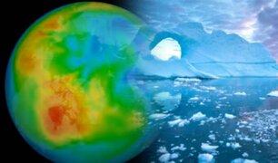 En el Ártico se cierra el mayor agujero de ozono jamás detectado