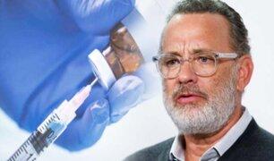 Tom Hanks y su esposa donan su sangre para encontrar una vacuna para el COVID-19