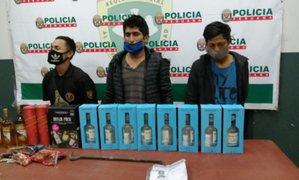 Los Olivos: hampones son detenidos tras robar licores de local de Tambo