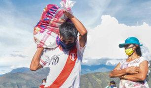 Huánuco: entregan bolsas de víveres a 2,500 familias vulnerables