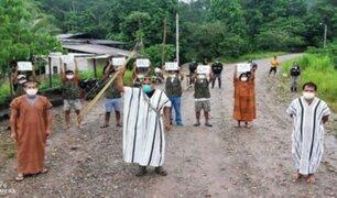 Comunidades indígenas de Pasco decidieron cerrar sus fronteras para frenar al COVID-19