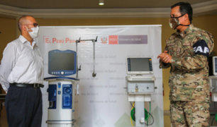 Covid-19: Minsa recibe ocho ventiladores mecánicos reparados por la FAP