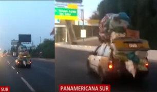 Surco: chofer que manejaba con excesiva carga podría recibir sanción, según especialista