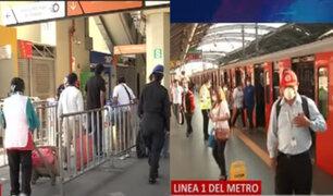 Denuncian incremento de usuarios en Metro de Lima pese a aislamiento social obligatorio