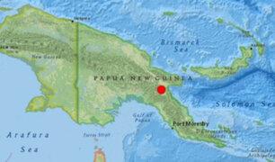 Terremoto de 6.3 grados de magnitud remeció Papúa Nueva Guinea