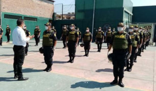 Ministro Rodríguez: 11 policías murieron por Covid-19 y 1300 están contagiados