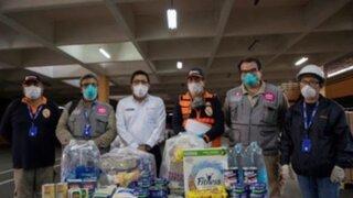 Empresas peruanas llevan ayuda a población vulnerable tras crisis por Covid-19