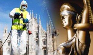 Epidemia culposa: miles de italianos piden justicia por la muerte de sus familiares en la pandemia