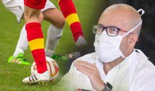 Ministro de Salud asegura que Perú no ha desarrollado ningún protocolo para que vuelva la Liga 1