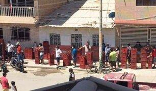 Forman largas colas para comprar cerveza en plena cuarentena en Piura