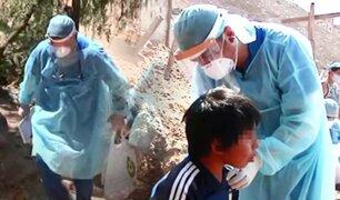 Ángeles de la Salud: doctores suben a los cerros más altos de Lima para ayudar a niños vulnerables