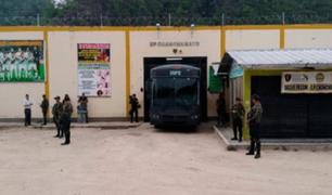 Reportan motín en penal Virgen de las Mercedes de Chanchamayo