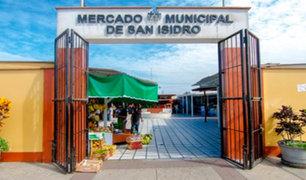 San Isidro cierra temporalmente Mercado Municipal por contagio de Covid-19