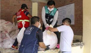 Municipio de Lima entregó alimentos a 2,500 familias vulnerables