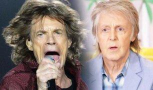 Mick Jagger responde a Paul McCartney sobre sus comentarios sobre los Stones