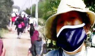 El éxodo de los olvidados que desafía la pandemia