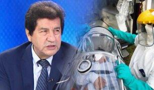 """Dr. Miguel Palacios: """"La curva sigue en ascenso y pone a prueba nuestro sistema de salud"""""""