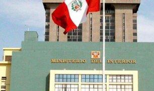 Ministerio del Interior  comunica que todos los involucrados en compras sobrevaloradas serán separados del cargo