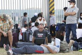 Extranjeros piden regresar a su país tras permanecer un mes en el Perú