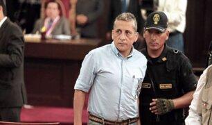 Tribunal Constitucional evalúa hábeas corpus de Antauro Humala