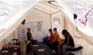 Club de la Marina alberga a peruanos que buscan regresar a sus regiones